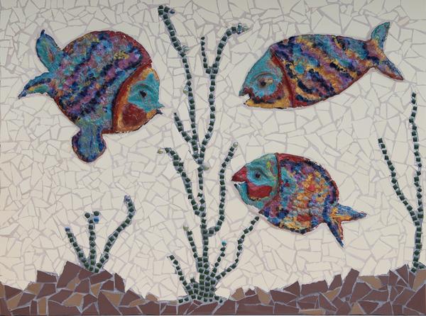 End of dull art als een vis in het water 2012 - Kamer van mozaiekwater ...